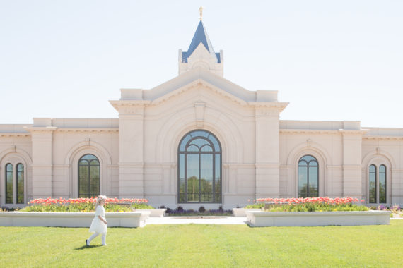 Eva's Baptism Preview {Fort Collins Temple, CO}